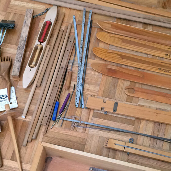 tools for Gilmore 4 Harness Floor Loom