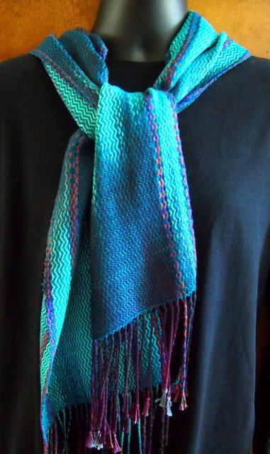 scarf by Lynn Noble