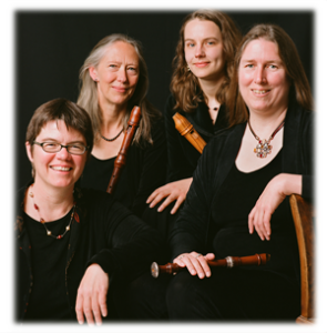 LR: Letitia Berlin, Louise Carslake, Annette Bauer, Frances Blaker