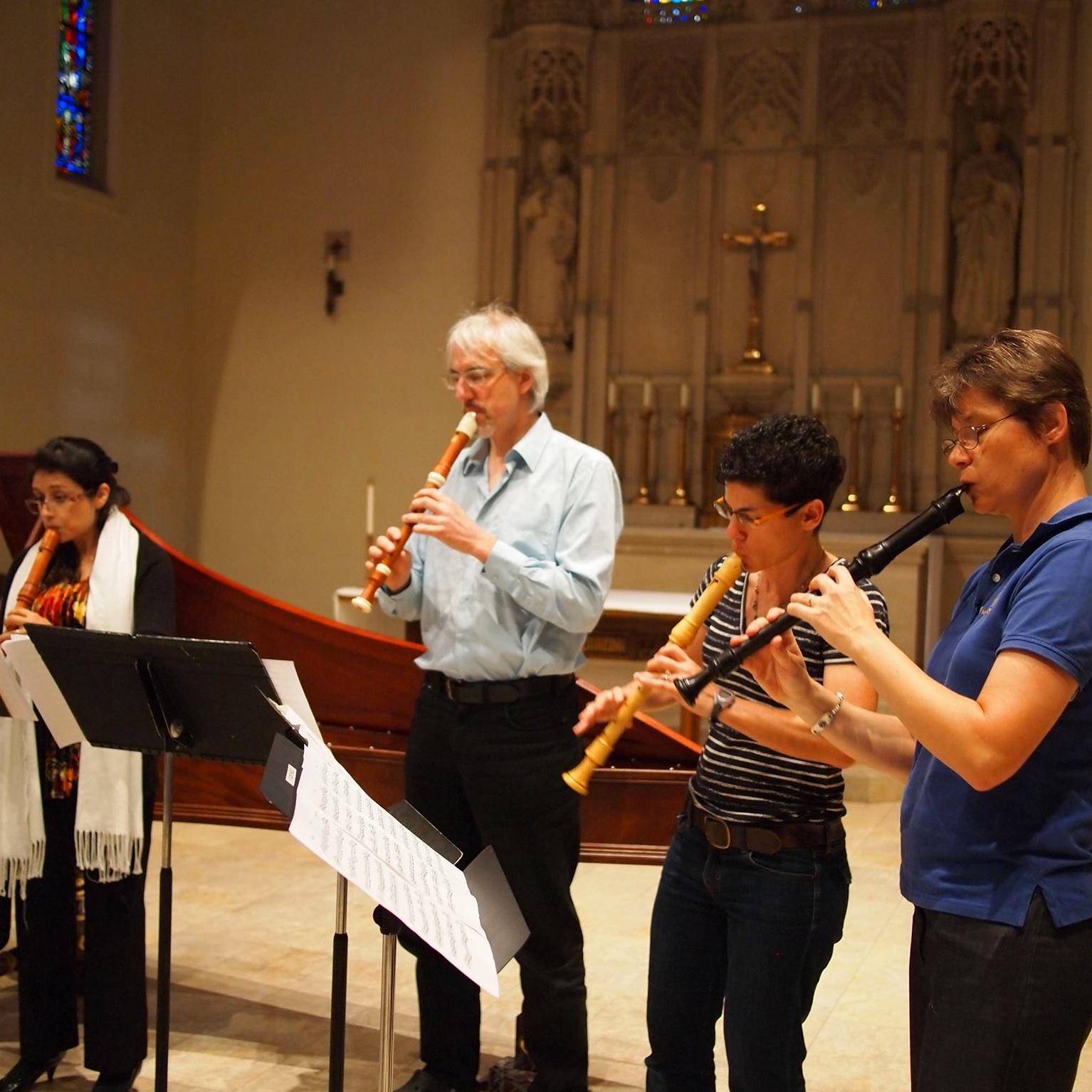 recorder faculty concert