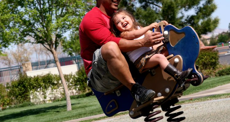 Father Daughter at the Park