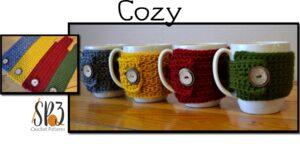 coffee cozy crochet pattern