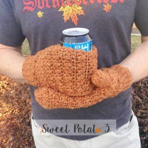 beer thirty mitten cozy