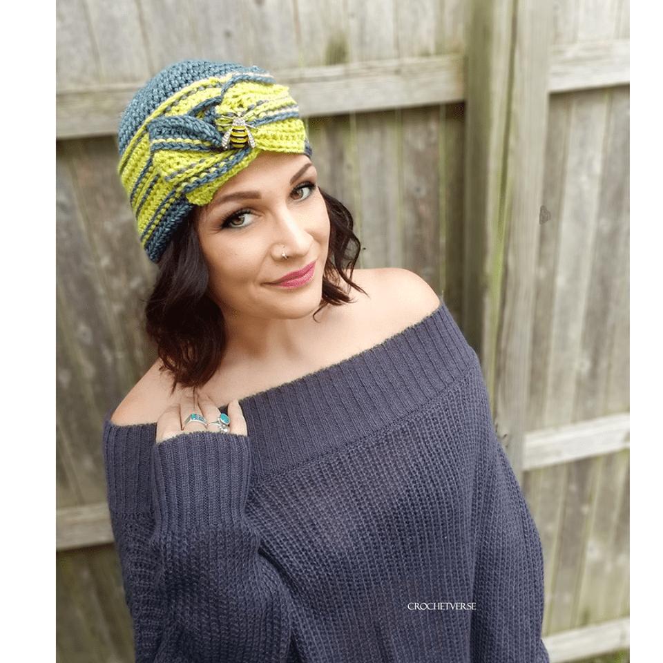 Challenge hat design by Crochetverse