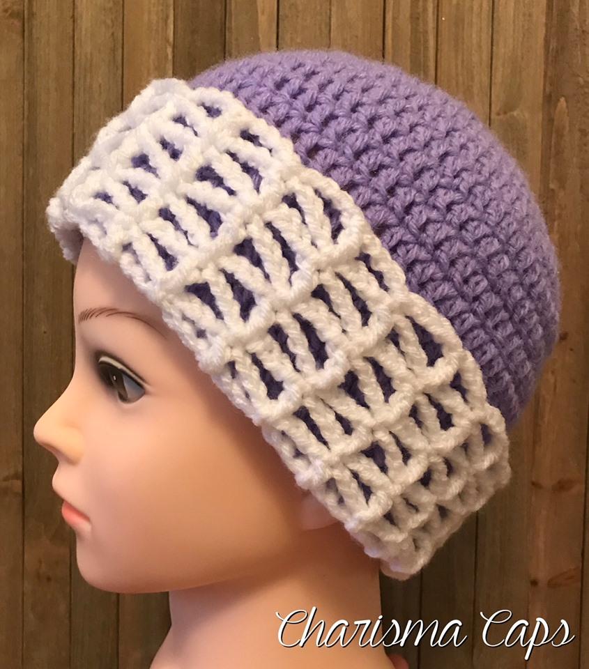 Charisma Caps Crochet Chemo Hat Pattern