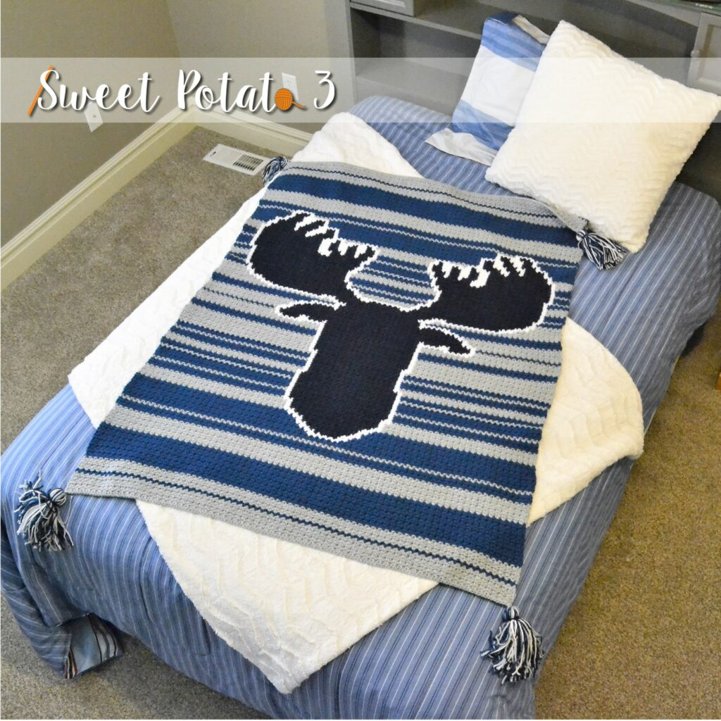 Don't Moose with Me Blanket Design