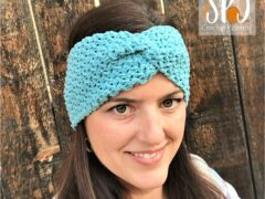 Mini Bean Stitch Ear Warmer