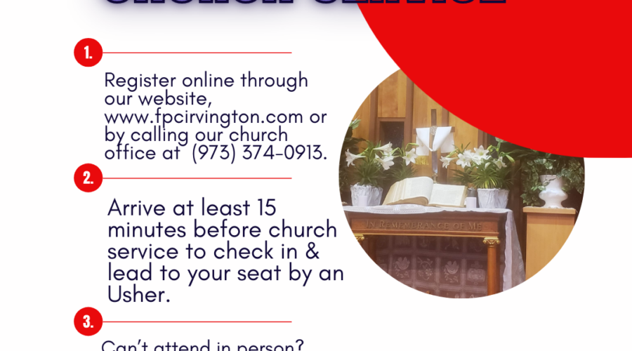 GUIDELINES FOR CHURCH RE-OPENING
