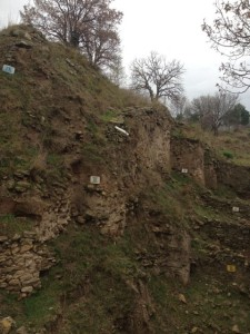 Excavations reveal nine different cities of Troy.