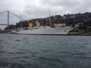 Ataturk's yacht