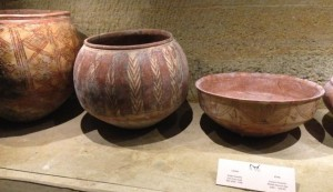 Later Bronze age pots