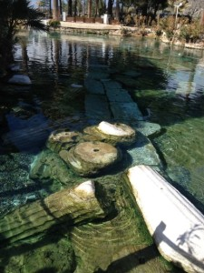 Ancient pools