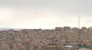 first view of Nevshehir