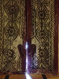 inside of kilim doors