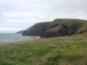 Ceibwr cliffs