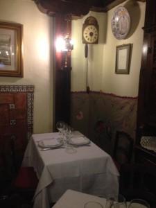 Hemingway and F Scott Fitzgerald's table