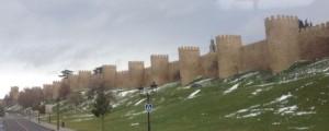 Medieval walls of Avila