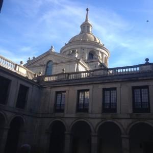 Dome of Basilica or El Escorial