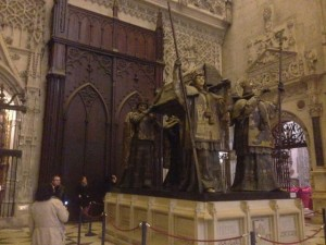 grave of Christopher Columbus