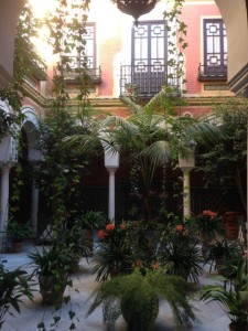 private courtyards