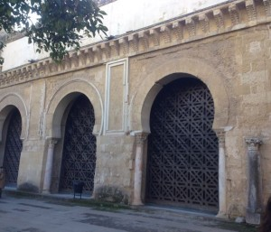 exterior arches enclosed