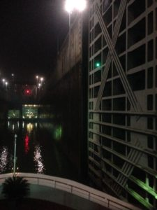 entering first lock