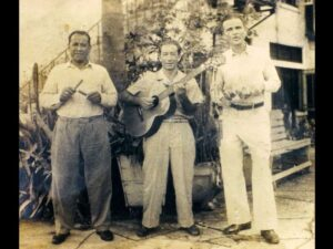 Grandfather Julio on the right