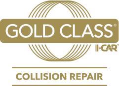 Gold Class Logo Collision Repair