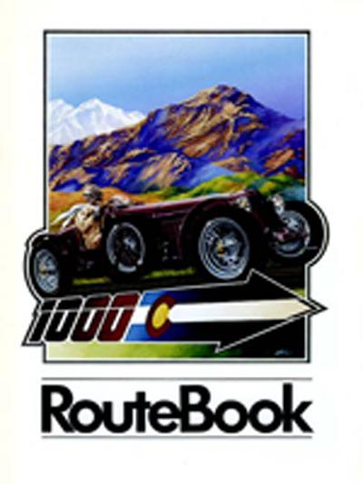 1989 Colorado Grand Route Book