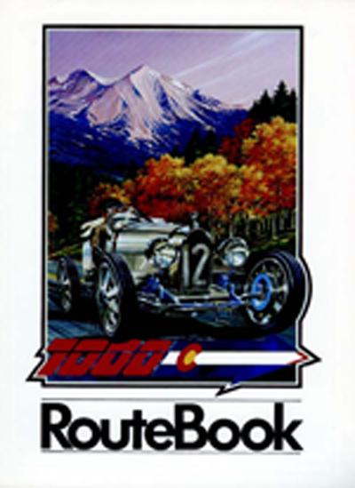 1990 Colorado Grand Route Book