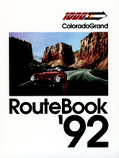 1992 Colorado Grand Route Book