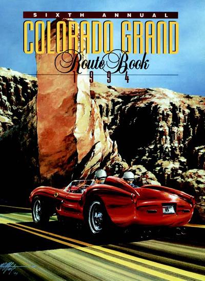 1994 Colorado Grand Route Book