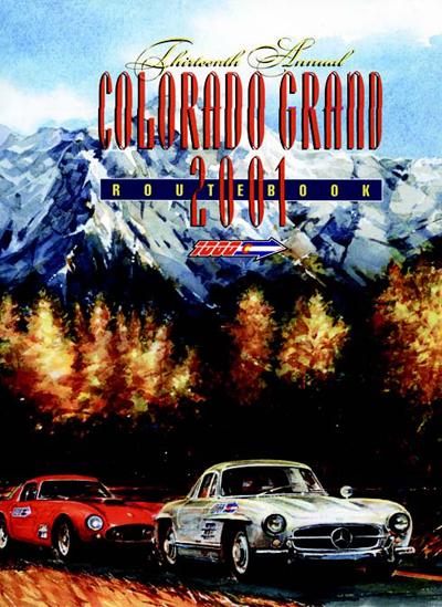 2001 Colorado Grand Route Book