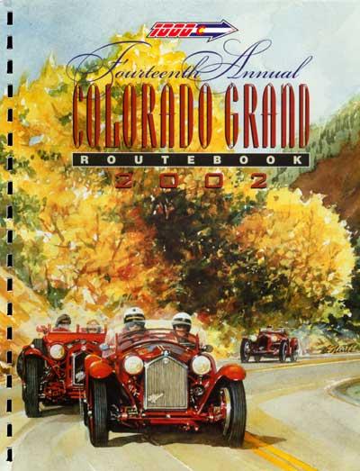 2002 Colorado Grand Route Book