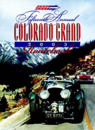2003 Colorado Grand Route Book