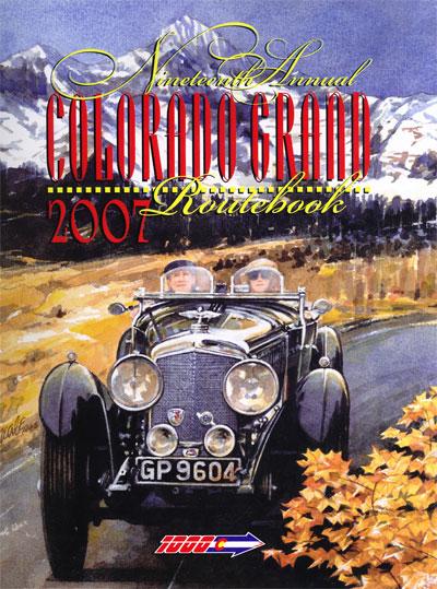 2007 Colorado Grand Route Book