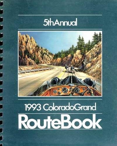 1993 Colorado Grand Route Book