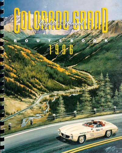 1996 Colorado Grand Route Book