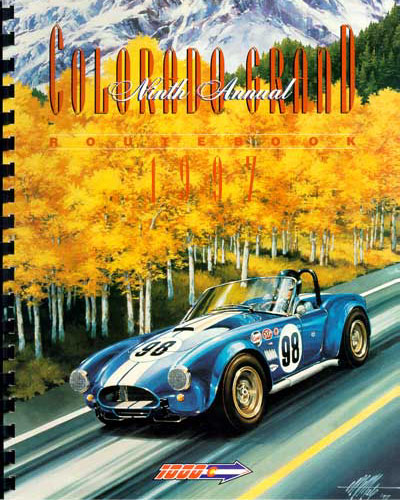 1997 Colorado Grand Route Book