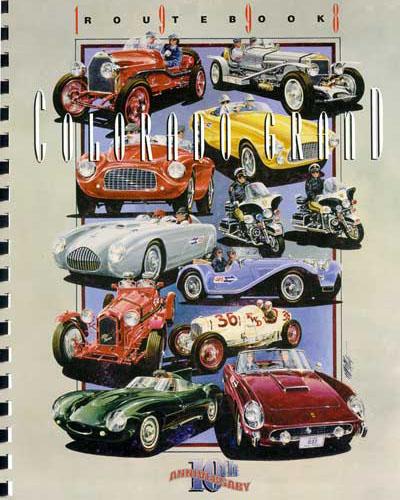1998 Colorado Grand Route Book