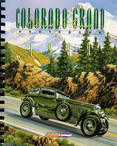 1999 Colorado Grand Route Book