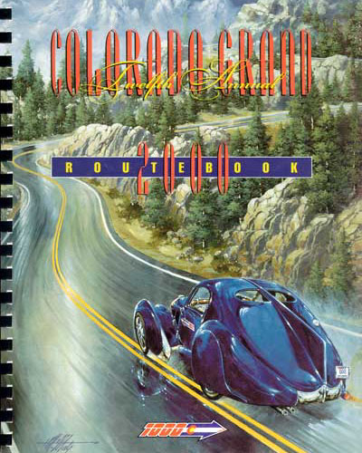 2000 Colorado Grand Route Book
