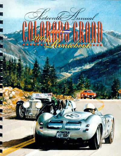 2004 Colorado Grand Route Book