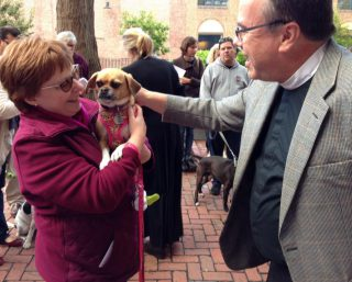 Blessing of the Animals at Christ Church