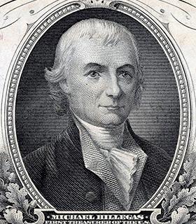 Michael Hillegas portrait