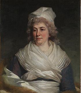 Sarah Franklin Bache portrait