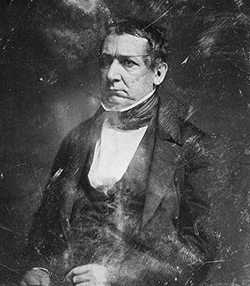 William Meredith portrait