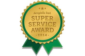 2014 Angies List Super Service Award