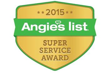 2015 Angie's List Super Service Award