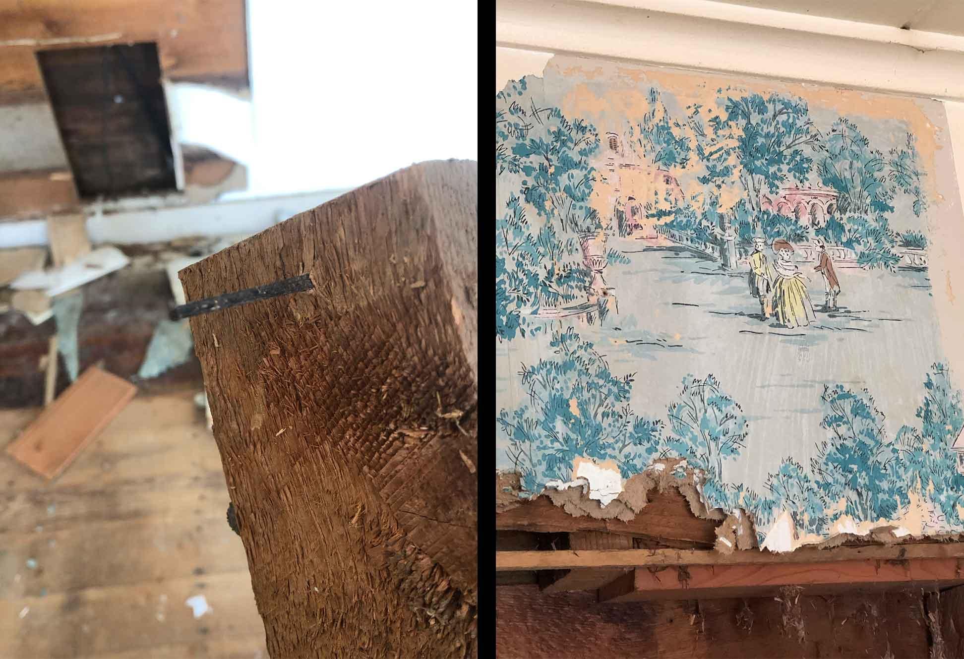 The Tilted Barn - Elsasser Home Wallpaper